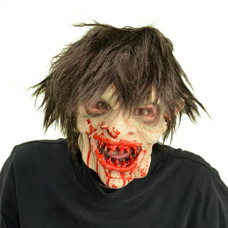Zagone Halloween Masks (Zagone Studios Yummy Zombie Latex Halloween Adult Costume Mask (one)