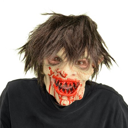 Zagone Studios Yummy Zombie Latex Halloween Adult Costume Mask (one - Face Painting Zombies Halloween