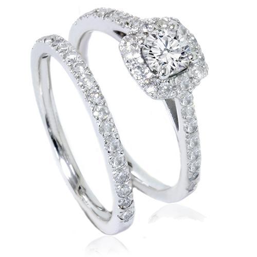 78ct Cushion Halo Diamond Engagement Ring Set 14k White. Small Square Engagement Rings. Bush Rings. Eng Engagement Rings. William And Kate Wedding Rings. London Mens Engagement Rings. Pear Diamond Rings. Baby Wedding Rings. Wrap Engagement Rings