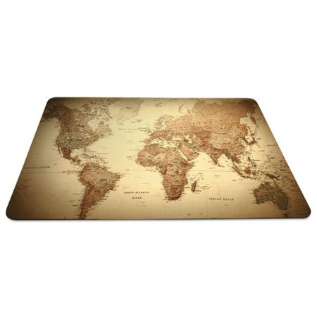 esr119066 trendsetter world map desk pad