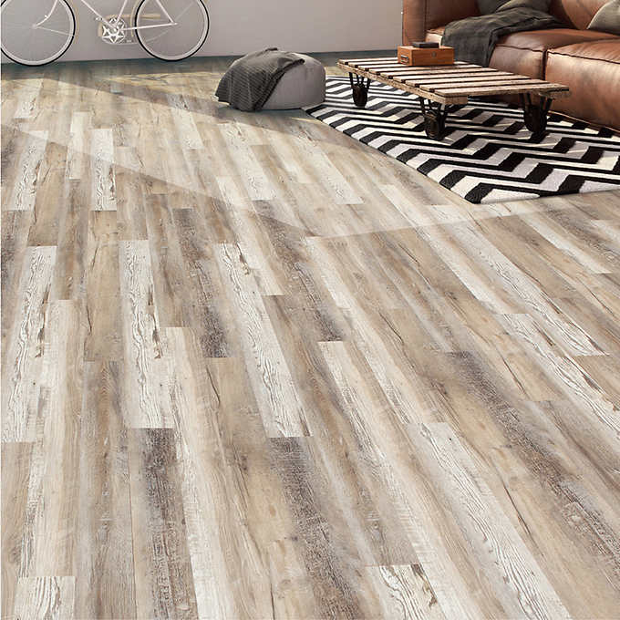 Kairos Georgian Shores 1524 cm 6 in SPC Vinyl Plank Flooring Dark  Grey  Walmart Canada