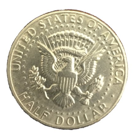 Magic Trick Folding Half Dollar (Aka Bite Out Half Dollar - Coin