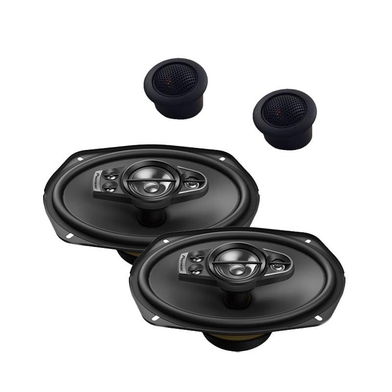 "New Pioneer TS-A6990F 700 Watts 6/"" x 9/"" 5-Way Coaxial Car Audio Speakers 6x9/"""