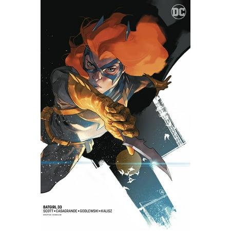 DC Comics Batgirl #33 [Putri Variant] - Batgirl Emblem