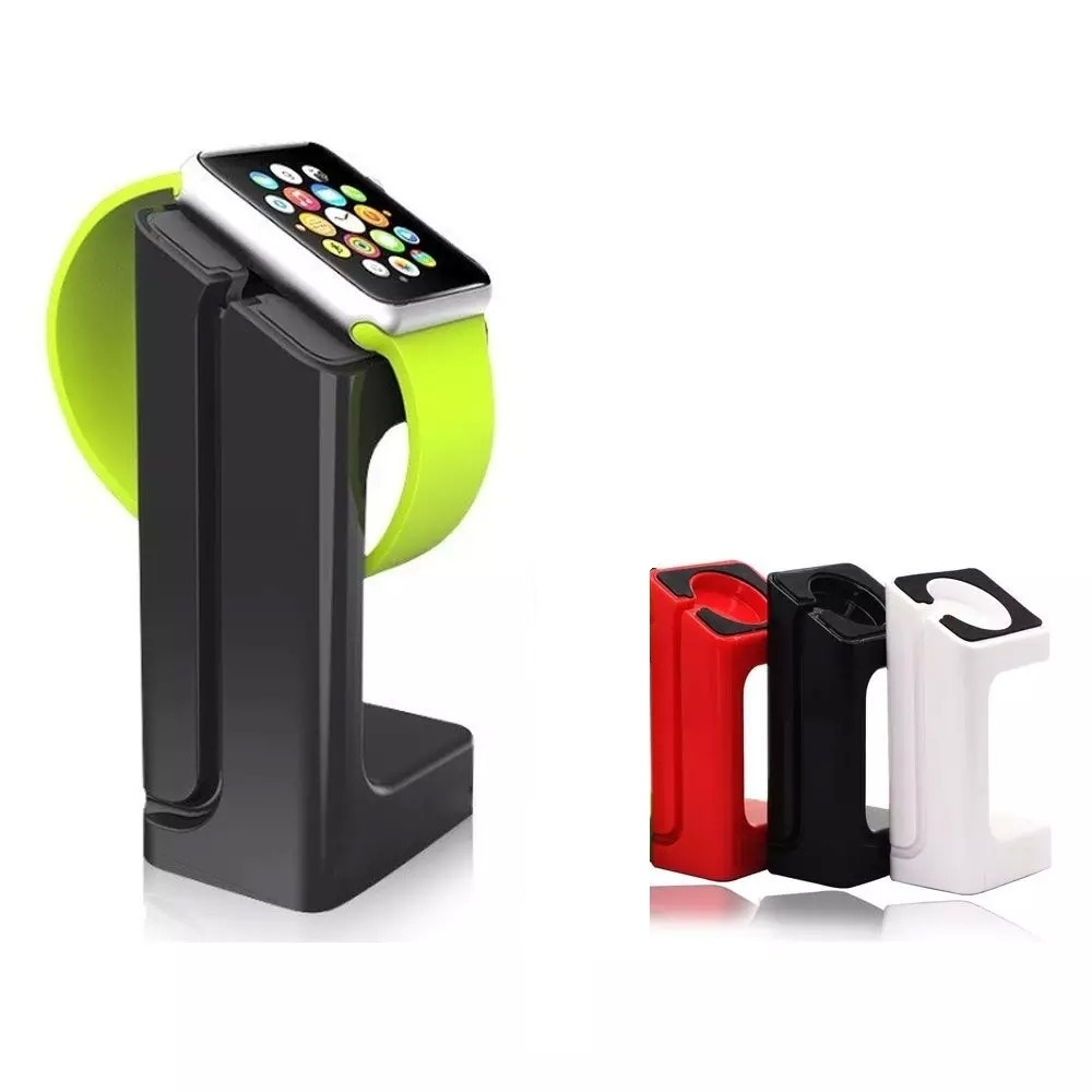 Docking Station for Smart Watch, U Watch and Apple iWatch - White