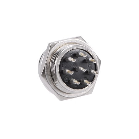 Aviation Connector 16mm 8P 4A 250V GX16-8 Waterproof Male Wire Panel Power 250v Shore Power Inlet