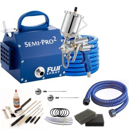 Fuji Spray Semi-PRO 2 Gravity HVLP Spray System and Pro Accessory (Fuji Hvlp Q4 Pro With Gravity Gun)