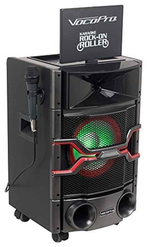 """VocoPro DVD Karaoke System w  10"""" Monitor & Light Show Speaker by VocoPro"""