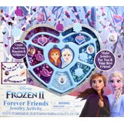 Disney Frozen 2 Forever Friends Best Friends Jewelry Activity with 300 Beads