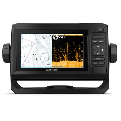Garmin echoMAP Plus 64cv Chartplotter & Fishfinder with CV23M-TM Transducer