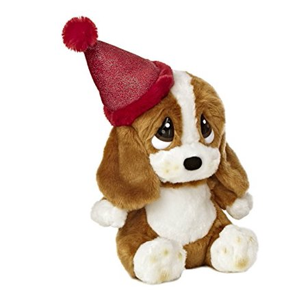 "Aurora World Sad Sam Lil Pup Birthday Plush with Hat, 7.5"" - image 2 of 2"