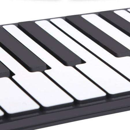 Roll Up Piano Folding Portable Keyboard | 88Keys | Music Gifts for Women Men Girl Boys Kids | Educational Toys Gift Set | Digital Beginner Piano - image 5 of 9