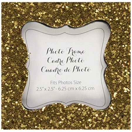 Kate Aspen, All That Glitters, Gold Photo Frame, Place Card Holder, Customizable Deco Place Card Frame