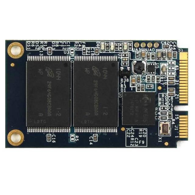 Super Talent 64GB mSATA2 Solid State Drive w/ JEDEC Standard MO-300B (MLC) - RETAIL