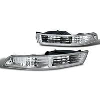 Spec-D Tuning 1994-1997 Acura Integra Jdm Bumper Signal Lights 1994 1995 1996 1997 (Left + Right)