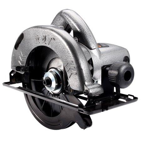 1480W Electrical Corded Circular Saw Wood Cutting Tool w/ 60 Tooth Carbide Blade