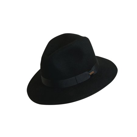 6b87373b20e Scala Classico - Men s 100% Wool Crushable Safari Hat - Walmart.com