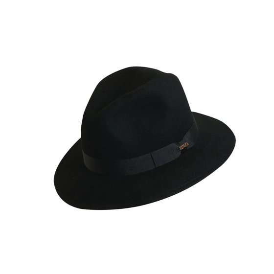 327eb194cdfba Scala - Scala Classico Men s Hyde Park Wool Felt Crushable Chocolate Safari  Hat - Walmart.com
