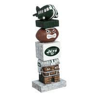 "New York Jets 16"" Team Tiki Totem - No Size"