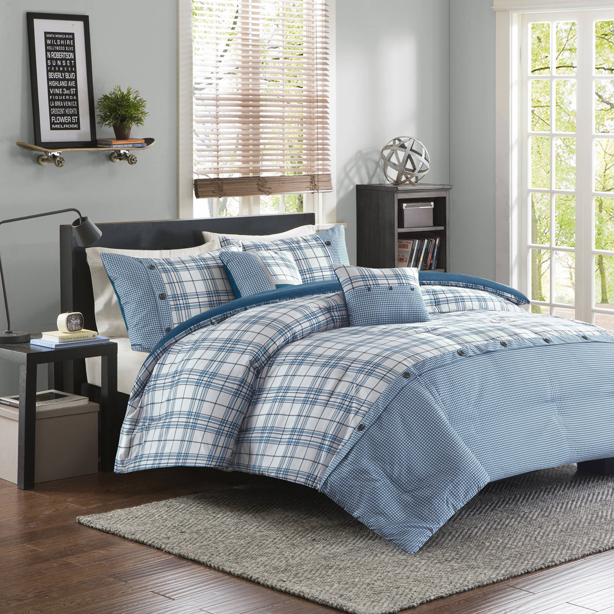 Home Essence Apartment Chet Comforter Set