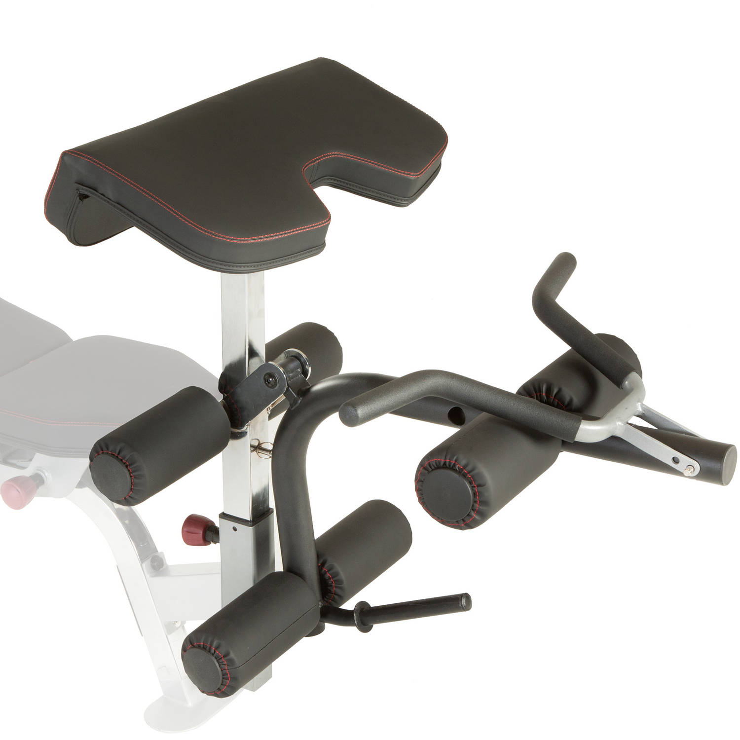 IRONMAN Triathlon X-Class Olympic Preacher Curl and Leg Developer Attachment with Limited Lifetime Warranty