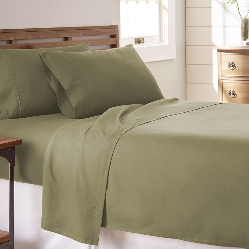 Noble Linens Premium Ultra Soft 4 Piece Bed Sheet Set