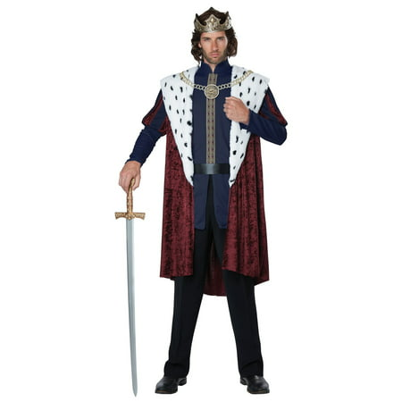 Royal Storybook King Adult Costume - Costume Book