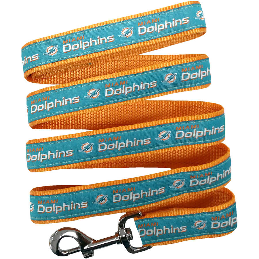 Pets First NFL Miami Dolphins Pet Leash