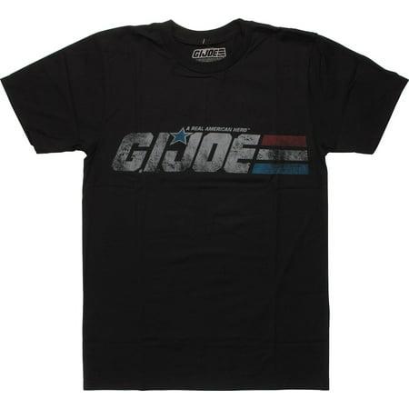 GI Joe Vintage Distressed Logo T-Shirt - Gi Joe Party Supplies