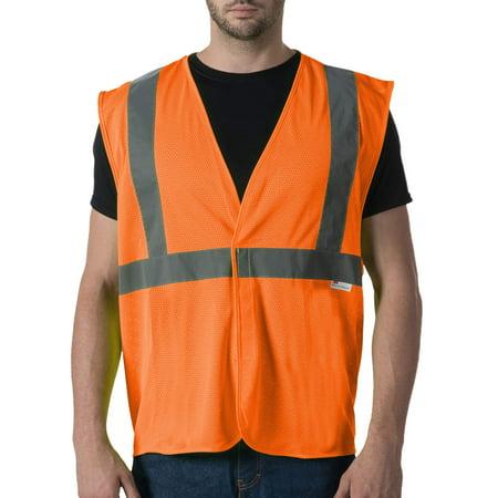 Men's ANSI 2 High Visibility Mesh Safety Vest