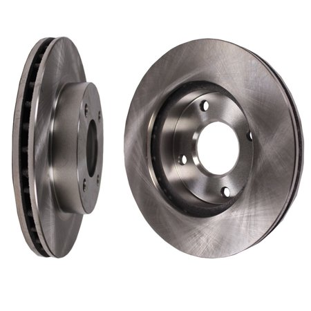 Rotor Fin - 1 Pair of Disc Brake Rotor Front fits 02-06 Nissan Sentra
