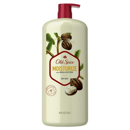 Old Spice Body Wash for Men Moisturize with Shea Butter (40 Fluid Ounce)
