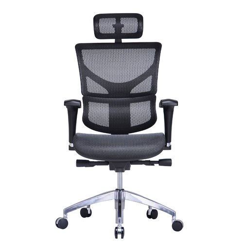 Conklin Office Furniture Vito High Back Mesh Task Chair With Headrest