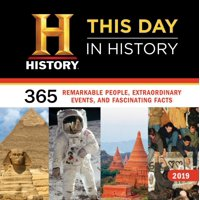 2019 History Channel This Day in History Wall Calendar