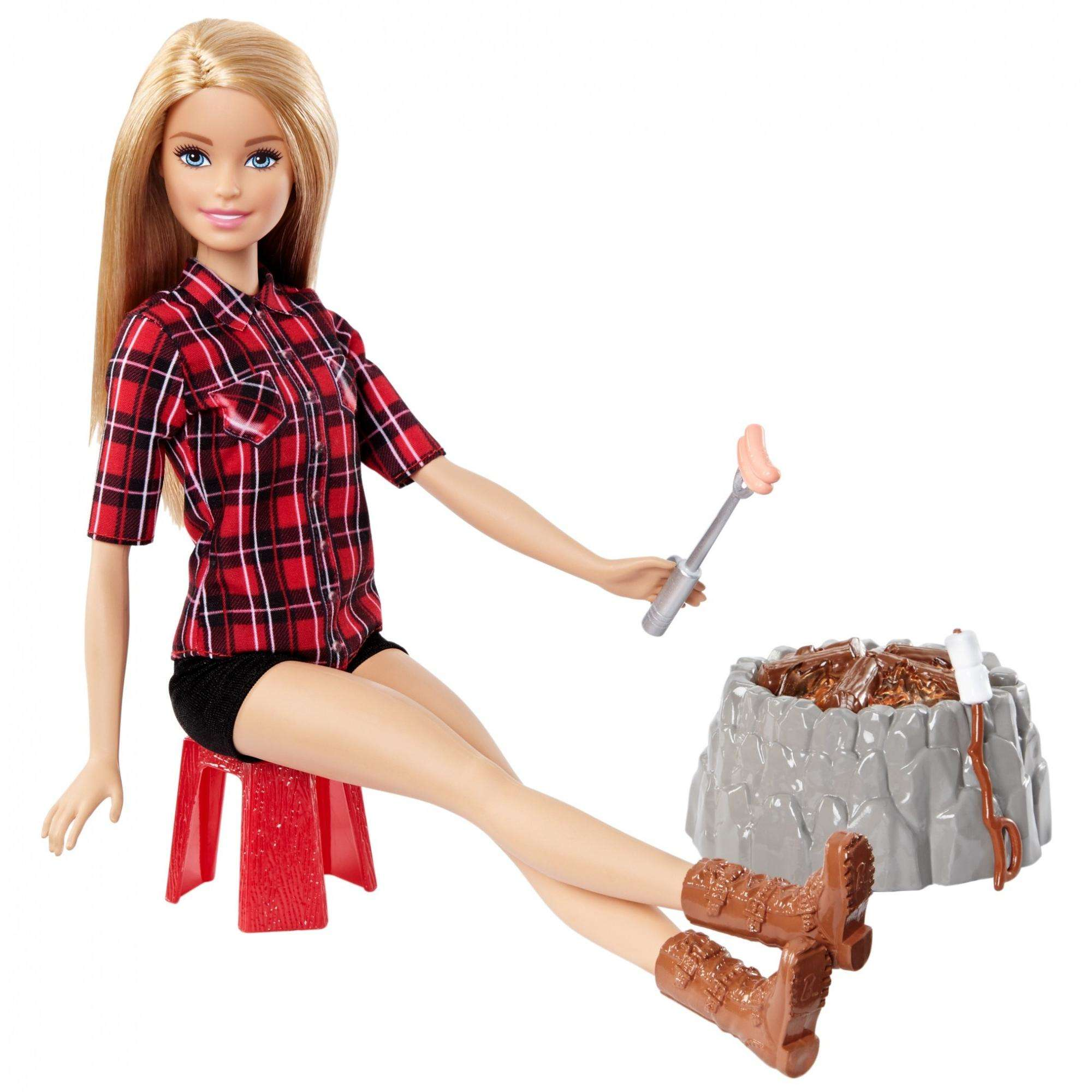 Barbie Sisters Campfire Doll by Mattel
