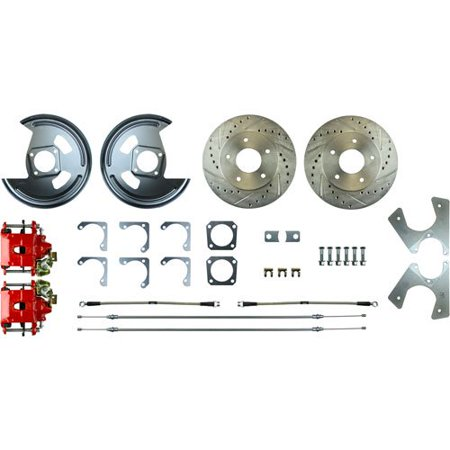 Right Stuff AFXRD01Z GM 10 & 12 Bolt Rear Disc Brake