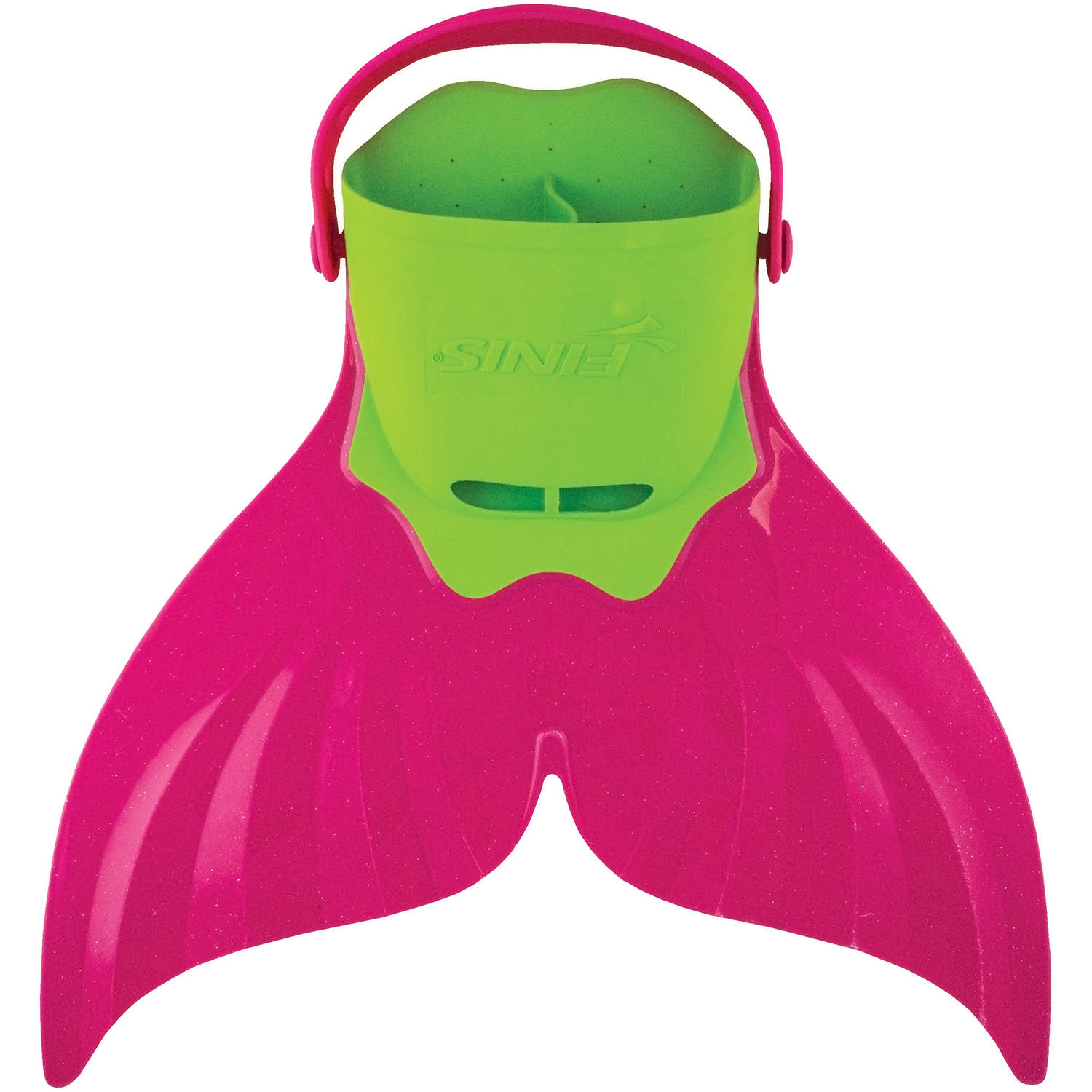 FINIS Children's Mermaid Fin in Light Green and Pink