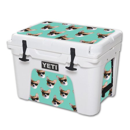 Skin For YETI 35 qt Cooler – Cool Corgi   MightySkins Protective, Durable, and Unique Vinyl Decal wrap cover   Easy To Apply, Remove, and Change Styles   Made in the USA (Coole Sonnenbrille Marken)