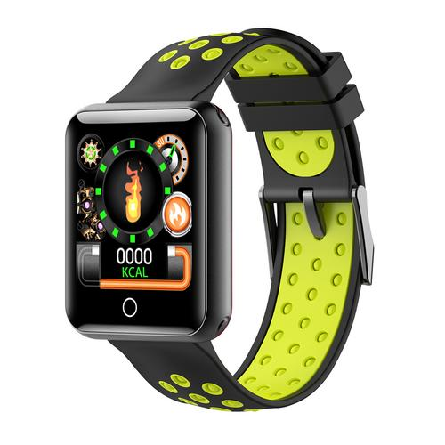 """1.54"""" Touch Screen Color Screen IP68 Waterproof Smart Sports Bracelet Watch Bluetooth Fitness Tracker Permeter Heart Rate & Sleep Monitor Sport Smart Bracelet for IOS/Android Smartphone"""