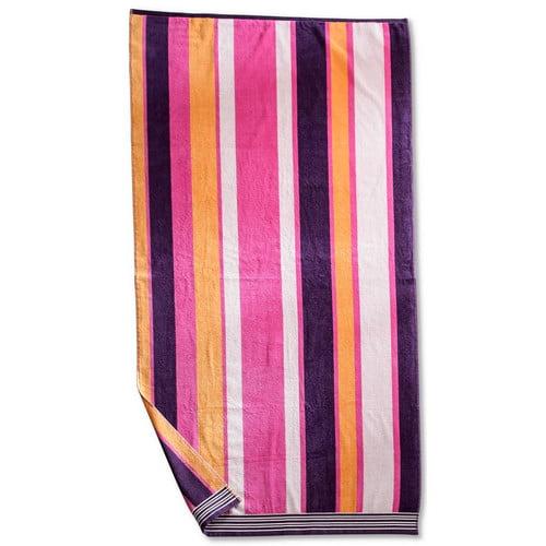Simple Luxury Superior Striped Beach Towel