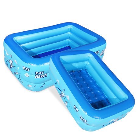 Large Baby Inflatable Pool Children Kids Infant Paddling Bathtub Water Play Anti-slip Baby Swimming Pool Bath Shower Pool Swim Training Tool