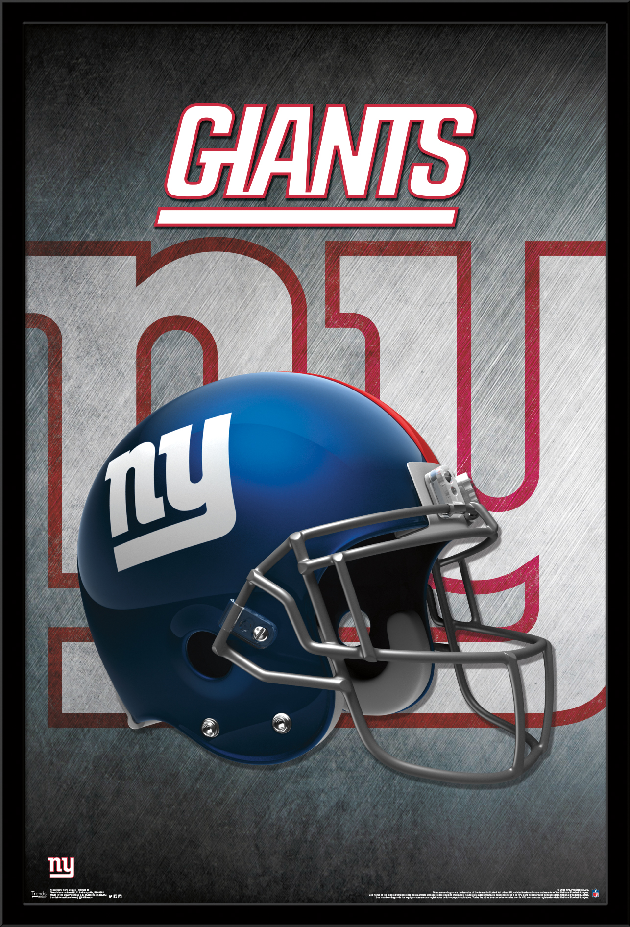 New York Giants - Helmet - Walmart.com d782a1e46