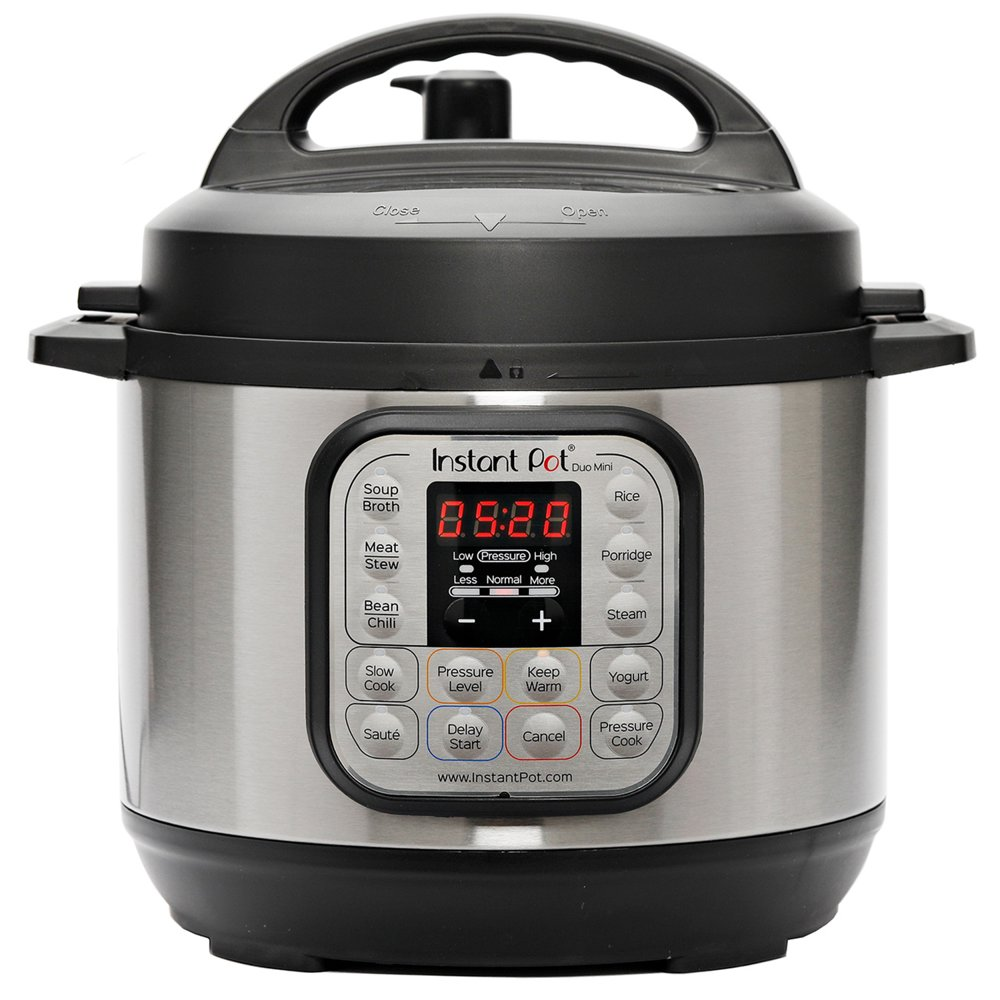 Instant Pot DUO mini 3-Quart 7-in-1 Multi-Use Programmable Pressure Cooker, Slow Cooker, Rice Cooker, Steamer, Sauté, Yogurt Maker and Warmer