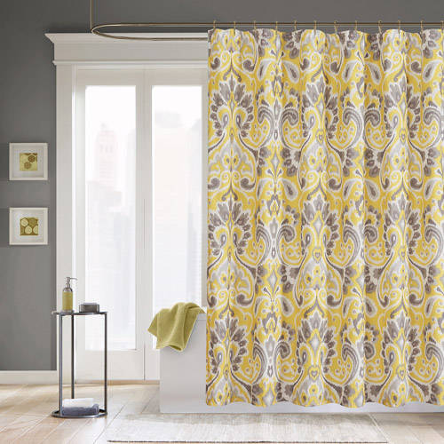 Home Essence Milan Microfiber Shower Curtain