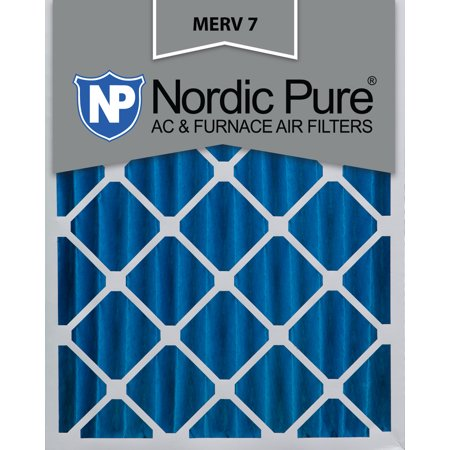 20x24x4 Pleated MERV 7 AC Furnace Air Filters Qty 1
