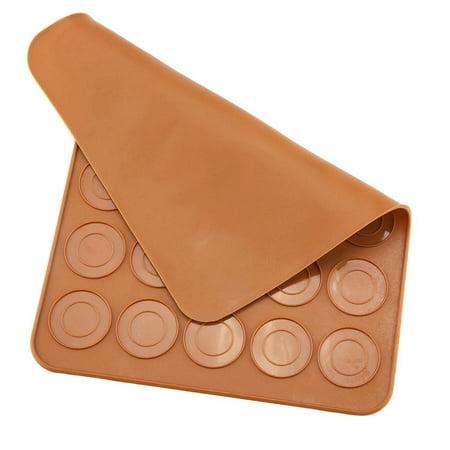 HURRISE 1pc 30 Holes Round Shape Macarons Mat Silicone Macaron Sheet Pad Pastry Cake Baking Tool,Macarons Mat, Macaron Sheet - image 7 de 9