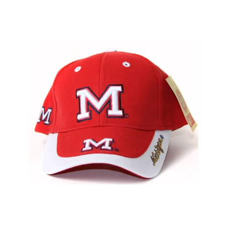 Toddler's University of Michigan Pride Hat Classic Logo - Classic Red and White - image 2 de 2