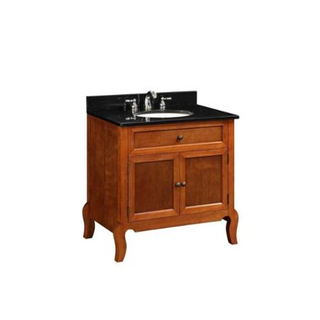 Unbranded 30 Inch X X 21 Inch Vanity Cabinet Only In Light Mahogany