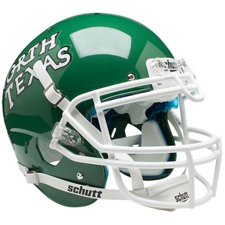 North Texas Football - Schutt Authentic North Texas Mean Green XP Football Helmet