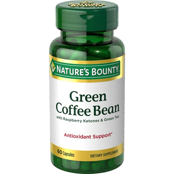 Nature S Bounty Green Coffee Bean With Raspberry Ketones Green